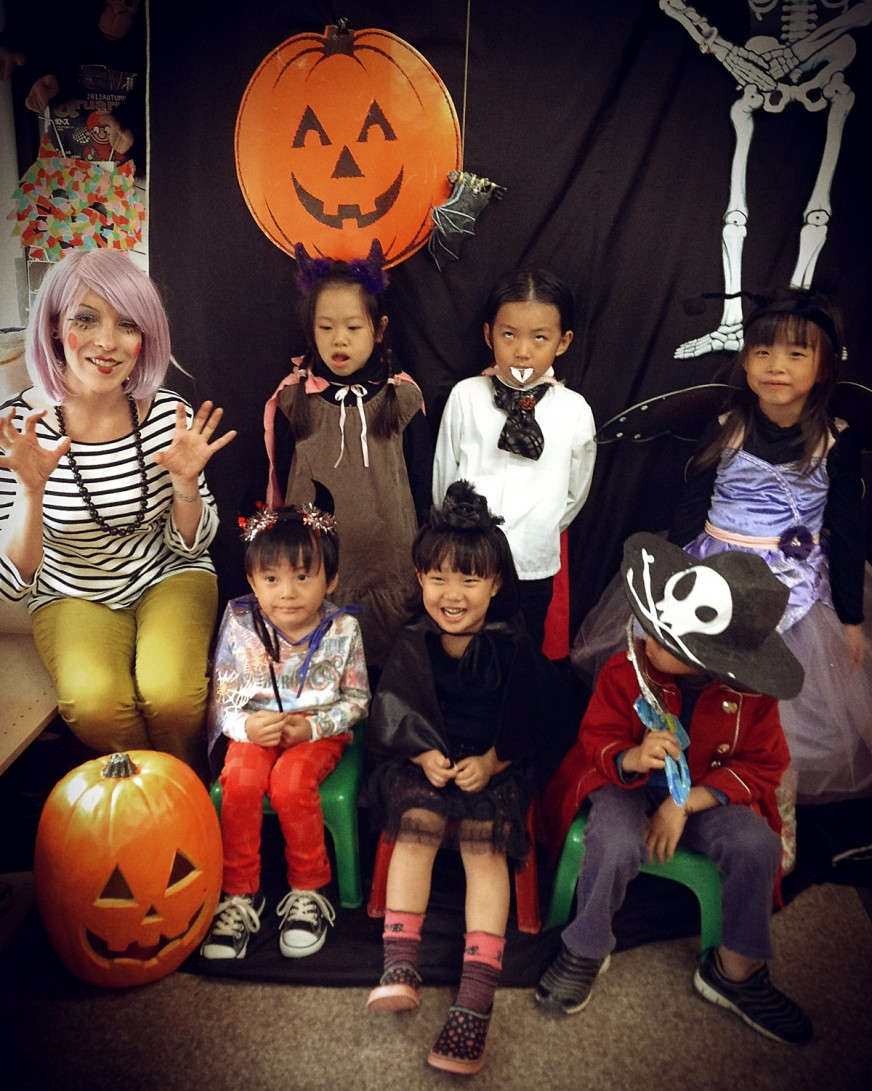 IPE Academy Halloween 2013 in Nagoya Japan