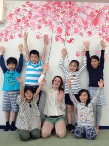 We've finished our Sakura Tree!