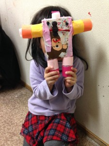 Ichika finished her GomiBot this week! She plans on making a friend for her  bot next.
